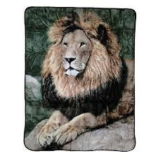 Lion Blanket Or Throw