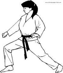 89b0a4dbdd92f59b493f78ffae0882c5 silhouette of a boy child practicing karate with a high leg kick on jujuphysio template
