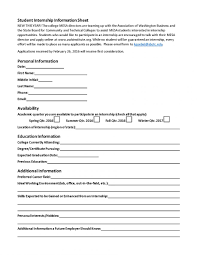 Student Registration Form Template Free Download Student Application Form Example With Registration Format In Word