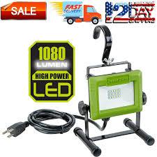 Green Led Work Light Details About 1080 Lumen Led Work Light Stand Large Adjustable Metal Hook Compact Lamp Green