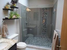 simple master bathrooms.  Bathrooms 15 Sleek And Simple Master Bathroom Shower Ideas U2022 Model Home Decor Inside Bathrooms I