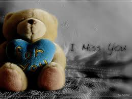 i miss you cute es hd wallpaper background images