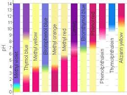 Ph Indicator Chart Cells Activity Common Core Science