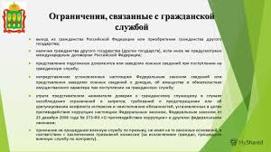 Презентация на тему Министерство образования Пензенской области  12 Ограничения