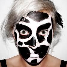 cowmakeup cow costume makeup