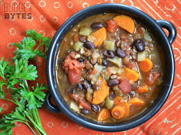 chunky lentil and vegetable soup recipe in ments
