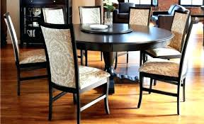 round dining table 5 chairs kitchen for large wooden room piece set