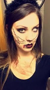 zombie cat makeup