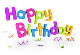 happy birthday photo frame png