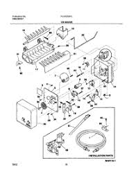 ice maker wiring harness diagram residential electrical symbols \u2022 Ken Moore Ice Maker Wiring Harness Adapter parts for frigidaire plht219tcb0 refrigerator appliancepartspros com rh appliancepartspros com ice maker wiring harness adapter sub