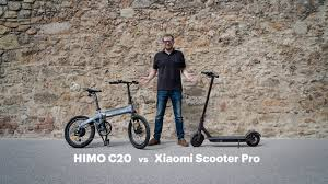 Folding e-Bike or e-Scooter? Xiaomi Scooter Pro vs Himo C20 ...