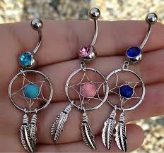 Dream Catcher Belly Button Rings Dream Catcher Belly Ring Country Wind Online Store Powered by 61