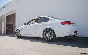 BMW 5 Series bmw m3 in white : Alpine White BMW E92 M3 with Stoptech BBK brakes