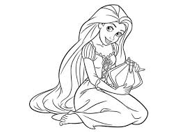 Small Picture Rapunzel Coloring Pages Coloring Coloring Pages