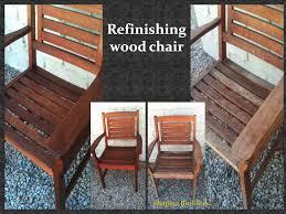 refurbished wooden chairs refinishing wood chair by shapira builders regarding furniture decor 1