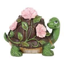 turtle garden statues outdoor decor