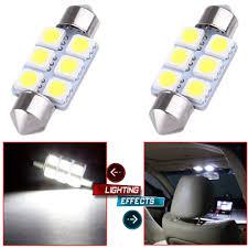 Epistar Super Led Lights Amazon Com Cciyu 2x Super White Led 5050 6smd Bulbs 36mm