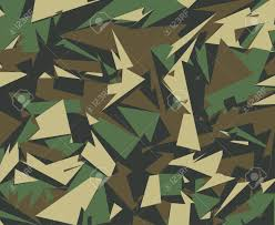 Camo Pattern Enchanting Abstract Vector Military Camouflage Background Camo Pattern