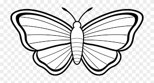 Printable Butterfly Outline Butterfly Outline Clipart Images Simple Printable Animal