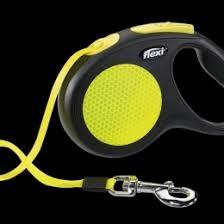 <b>Поводок</b>- <b>рулетка Flexi New Neon</b> L лента 5 м для собак до 50 кг ...