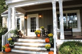 decorating for fall fun doors talk of the house front patio your porch indoors