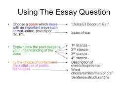 how to respond to the question ppt video online  using the essay question