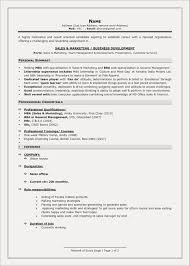 Resume Samples For Mba Freshers Free Download Unique Images Resume