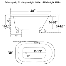dimensions 48 x 30