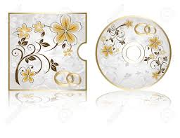 Wedding Cd Labels Wedding Cd Labels On A White Background Royalty Free Cliparts