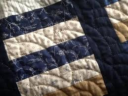 Amish Hand Quilting: Inspiration & Blue, White, and Brown Hand Quilted Quilt Adamdwight.com