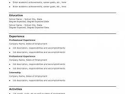 Download Basic Resume Outline Haadyaooverbayresort Com