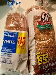 Aunt Millie S Light Whole Grain Bread Nutrition 35 Cals Slice Of Bread 1200isplenty