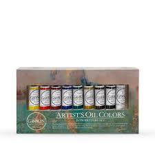 Gamblin Artist Oil Paint 37ml Introductory Set Of 9