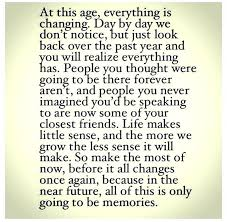 Life Changes Quotes