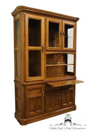 High End China Cabinets High End Used Furniture Richardson Brothers Solid Oak 58