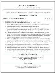 Social Work Resume Sample Social Employee Resume Samples Free Social