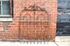 wrought iron garden gates s uk antique