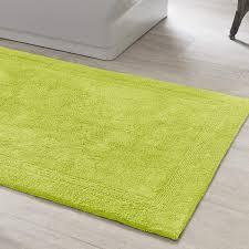 lime green bath rugs rug designs
