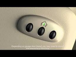 garage door opener remote universalUniversal Garage Door Opener Homelink  Lincoln Howto Video