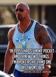 "Rock Quotes New Quotes From Dwayne €�The Rock"" Johnson DefineYourGrind"