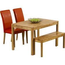 rory dining set with 2 chairs and 1 bench