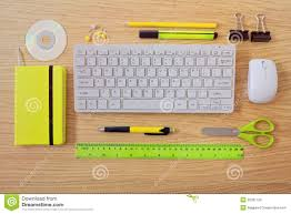 office desk template keyboard and office items view from office desk template keyboard and office items view from above