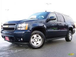 2007 Dark Blue Metallic Chevrolet Suburban 1500 LT 4x4 #3808360 ...