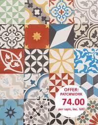 encaustic tiles moroccan tiles cement tiles uk patchwork