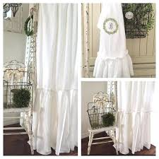 white ruffle shower curtain. Fashionable White Ruffle Shower Curtain Likes Comments Simply French Market On A Ruffled Linen .