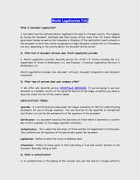 World Legalization Faq Document Authentication Uae Algeria