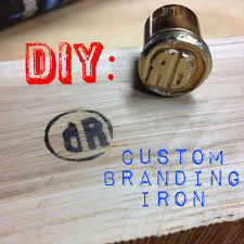 woodworking branding iron. i wanted a way to brand some of my projects. know you can order custom branding irons that fit on the end wood burner. woodworking iron b