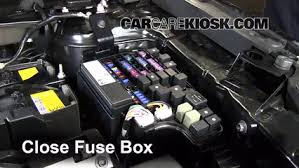 replace a fuse 2013 2016 mazda cx 5 2013 mazda cx 5 sport 2 0l 6 replace cover secure the cover and test component