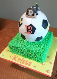 How To Decorate A Soccer Ball Cake Girls Soccer Ball Cake CakeCentral 72