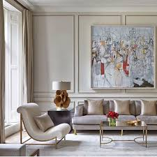 Living In Style The Paris Apartment Of Philippe Rapin And Sylvie Parisian Style Living Room